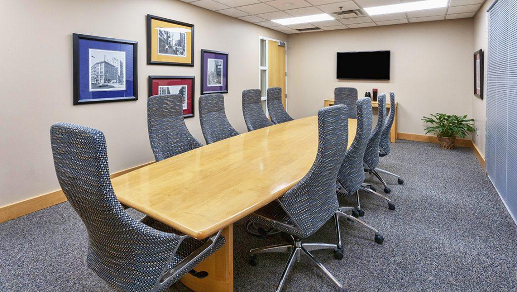 Tech Village Executive Suite Conference room
