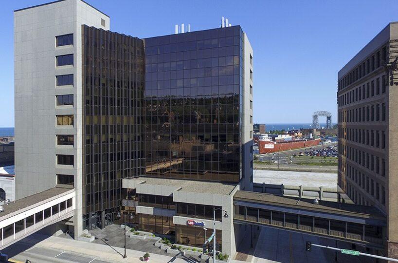 US Bank Building and Lift Bridge