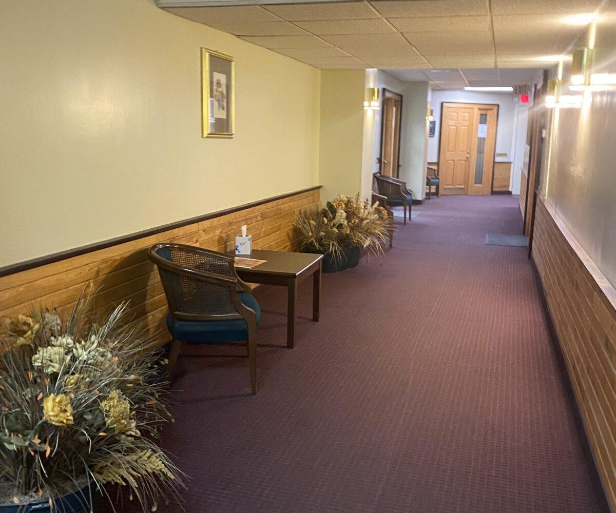 howard Court 3rd floor hallway